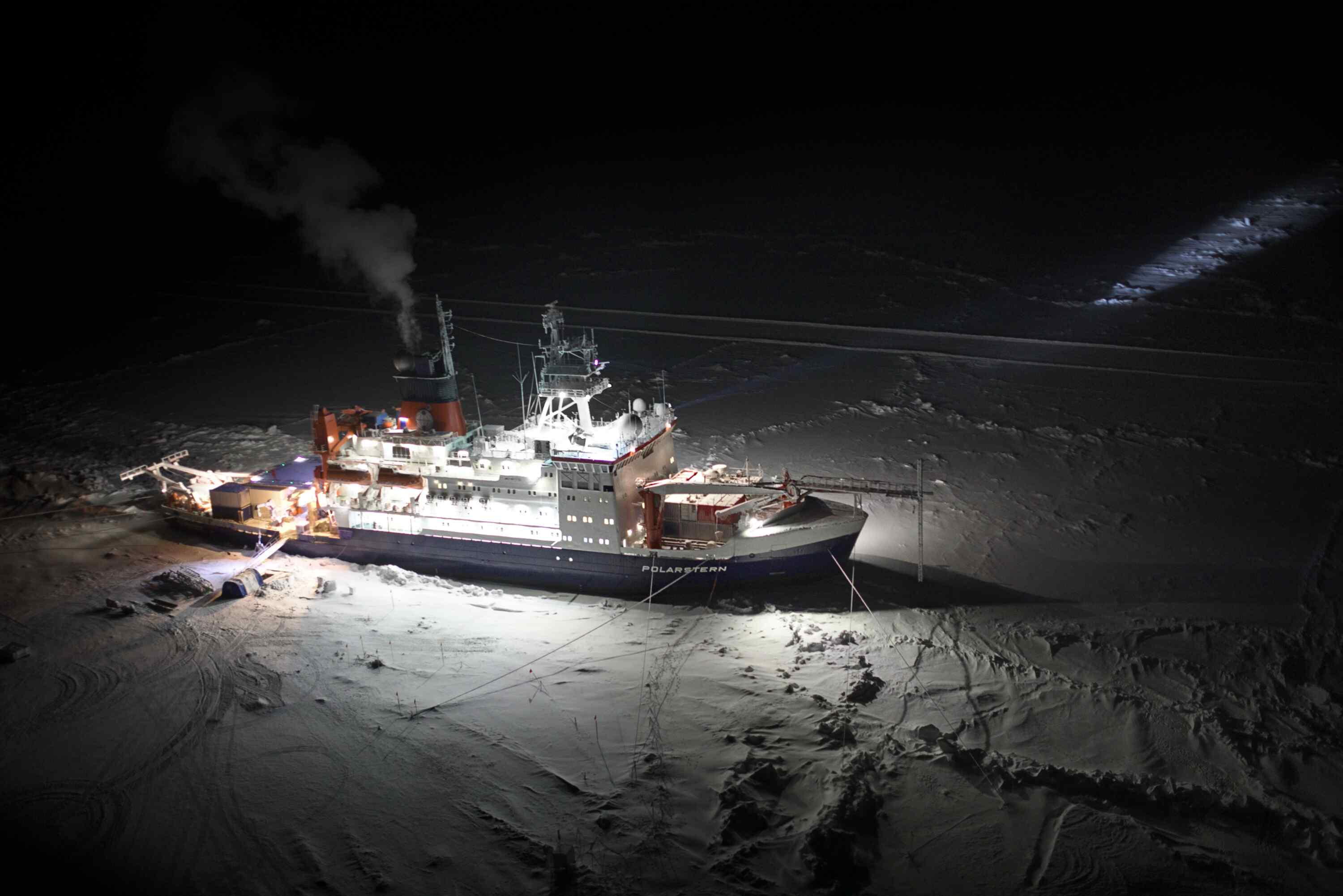 Polarstern in the Ice - M. Gallagher